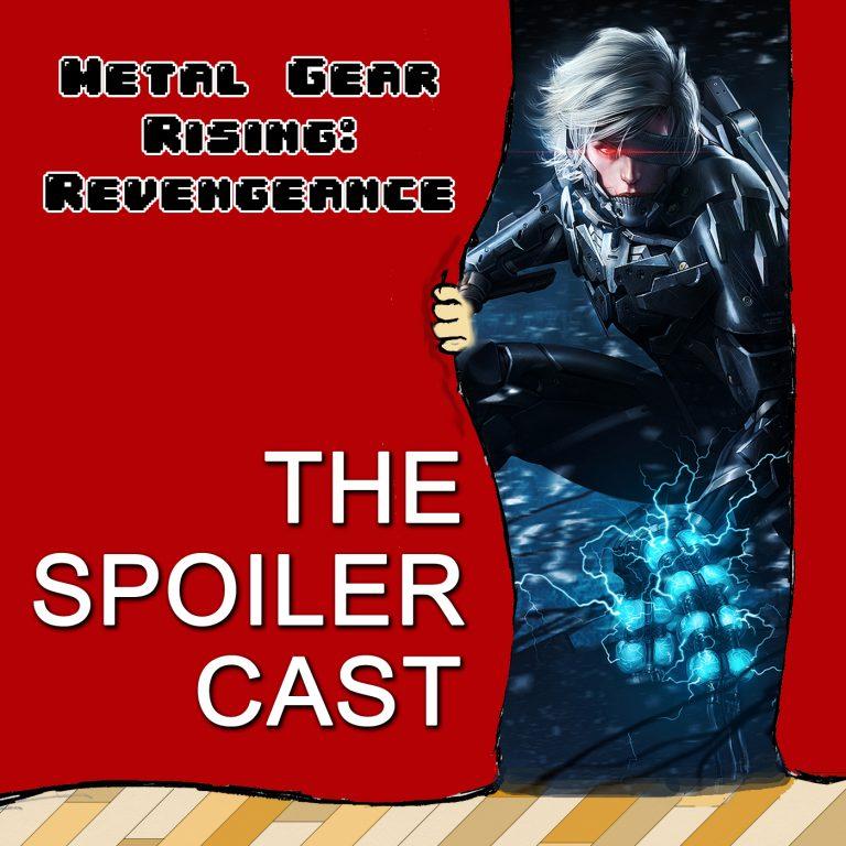 Metal Gear Rising Spoiler Cast