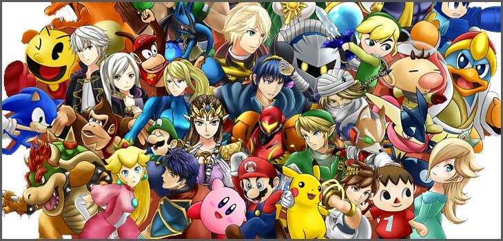 Super Smash Bros 3DS roster
