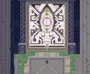 Titan Souls open the door