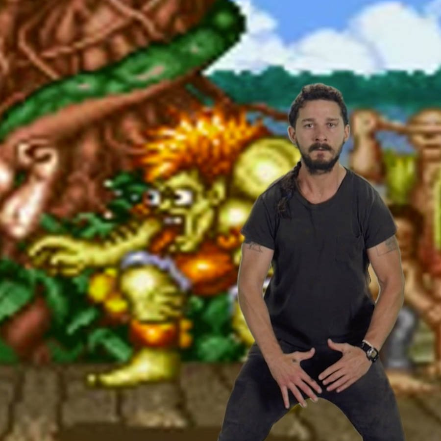 Shia Labeouf Motivational Speech with Guile's theme