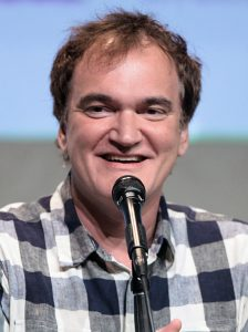 Photo of Quentin Tarantino, fresh after making a horrible piece of shit.