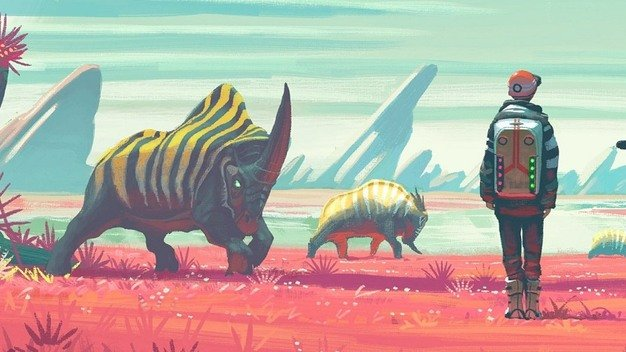 No Man's Sky journey