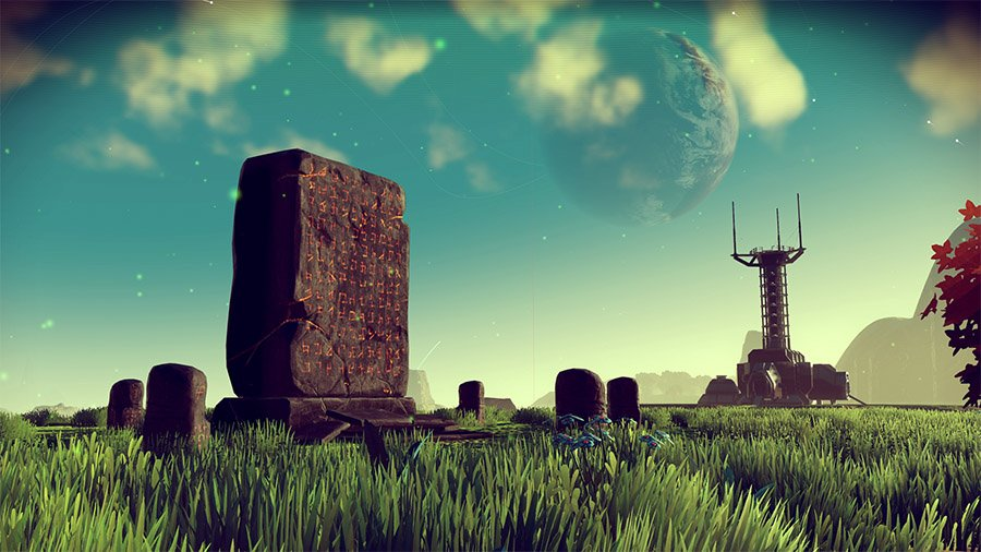 No Mans Sky Monolith