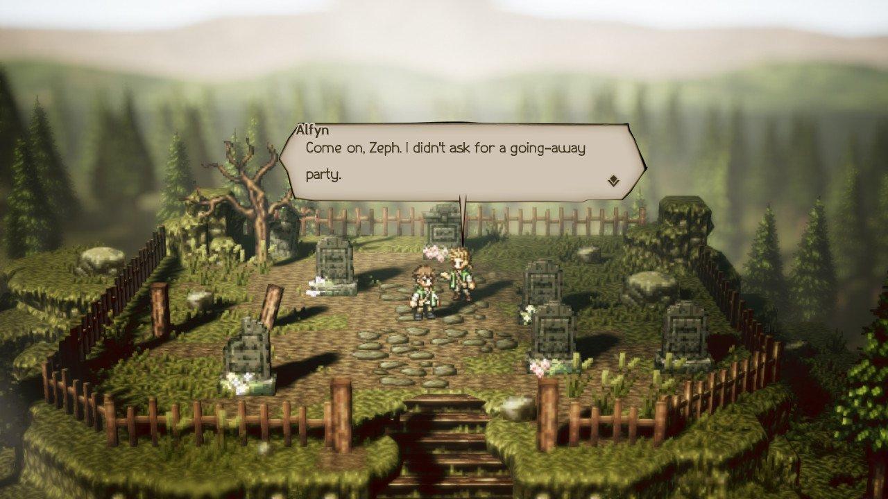Alfyn story octopath traveler