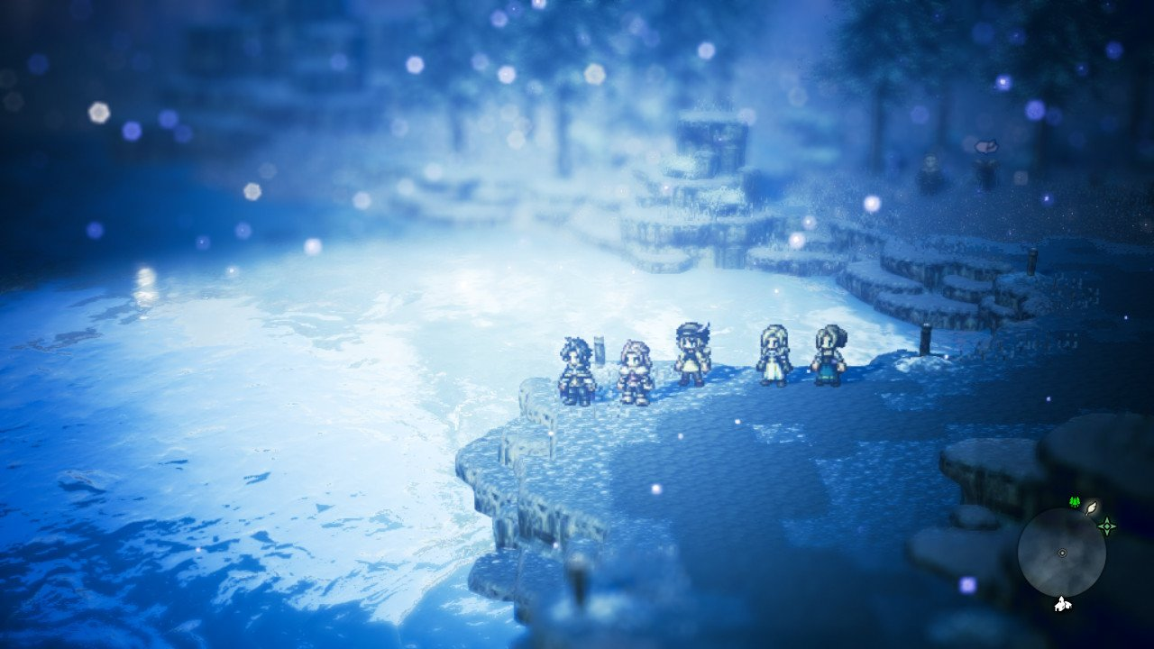 Octopath snow area