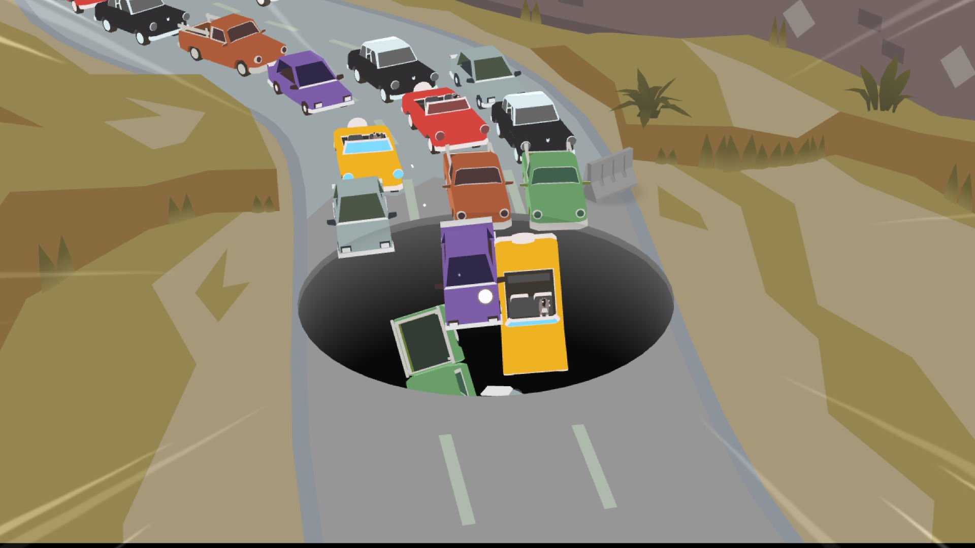Donut County Big hole