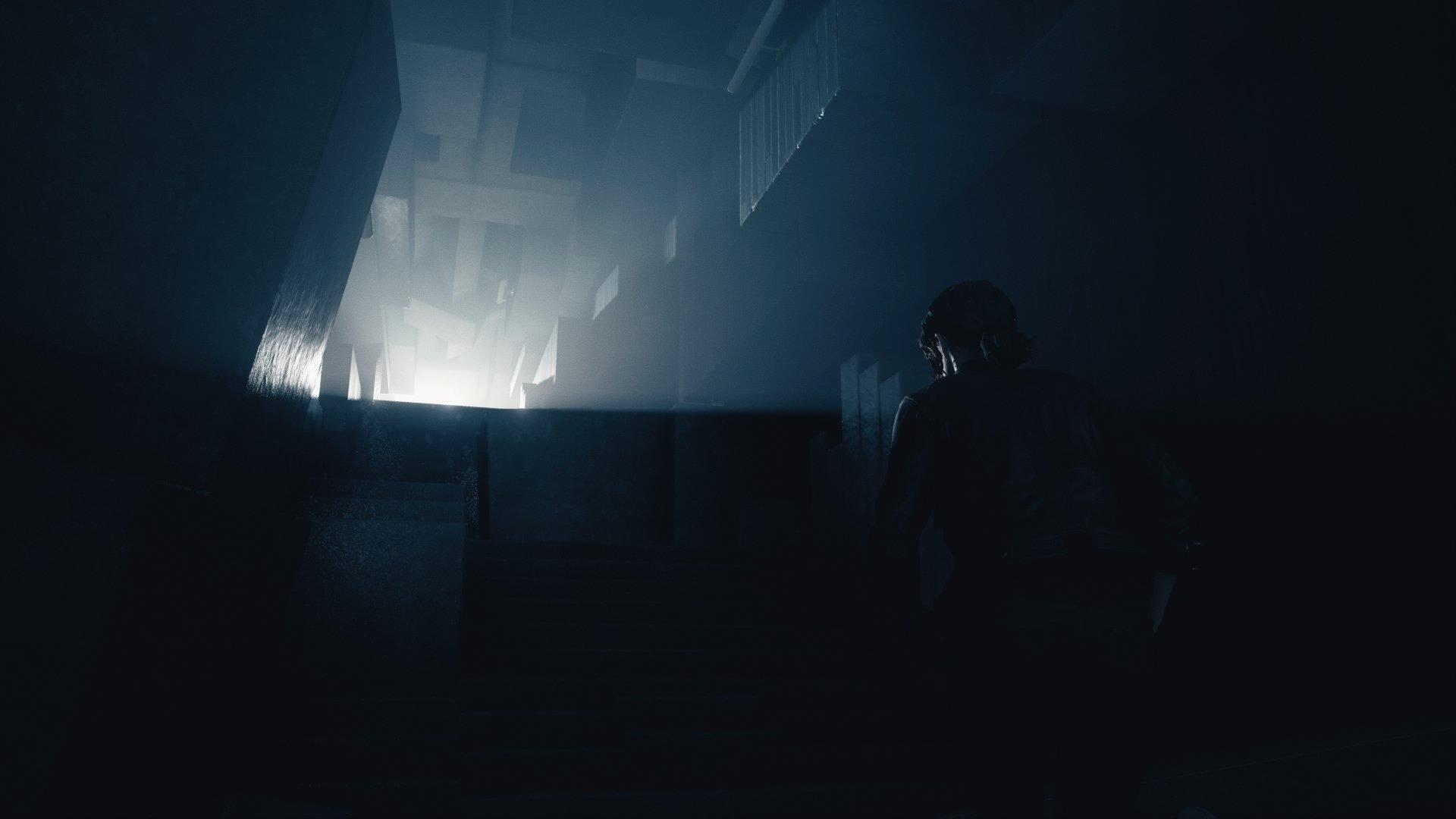 Control Dark screen