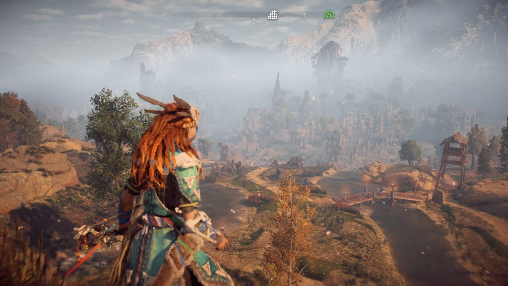 Horizon Zero Dawn Nora area